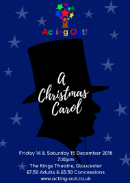 gallery/poster:artwork - a christmas carol